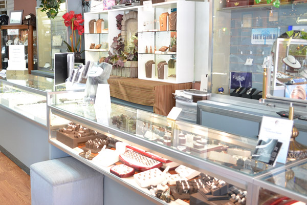 Inside Grady's Jewelers